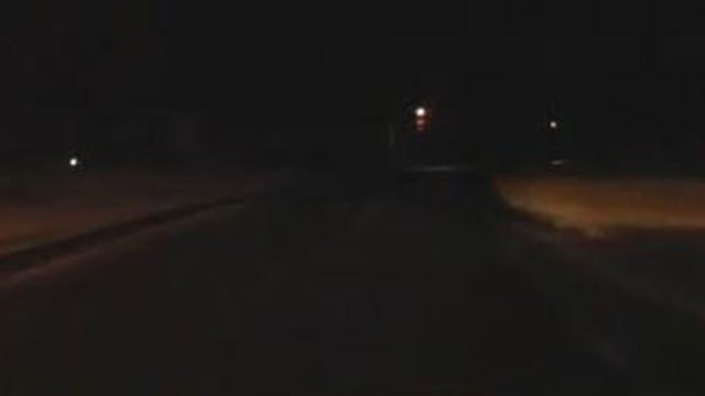 Early Warning Weather Tracker was checking out the road conditions on Friday morning. (WFSB)