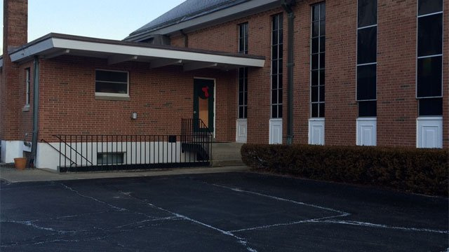 Police are investigating after $10,000 worth of damage was done to the Siena Roman Catholic church in Preston. (WFSB)
