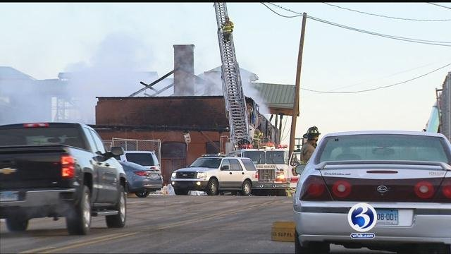 A historic train station in Berlin will be demolished after a fire earlier this month.  (WFSB file)