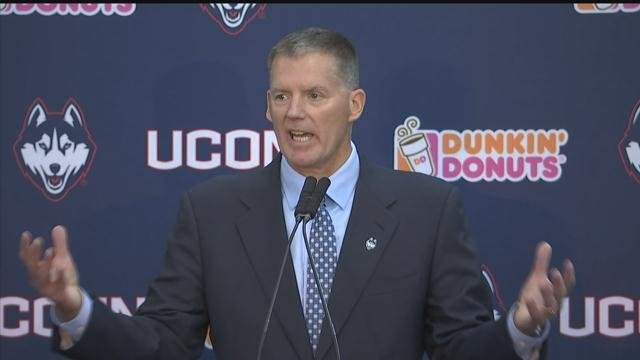Randy Edsall is once again the head football coach for the UConn Huskies. (WFSB)