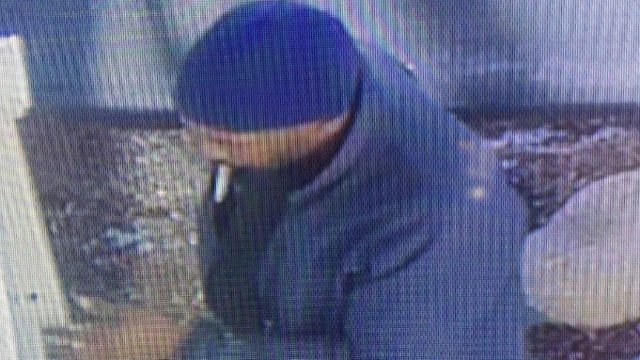 State police said this man is wanted for stealing at least two vehicles in the Marlborough area. (State police photo)