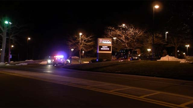 Police continue to investigate the shooting that happened outside the Oakdale Theater on Friday. (WFSB)