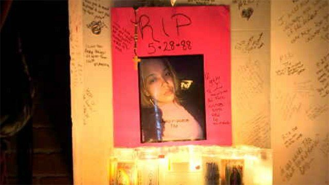 Family and friends remembered Luz Rosado who was shot and killed on Sunday morning. (WFSB)