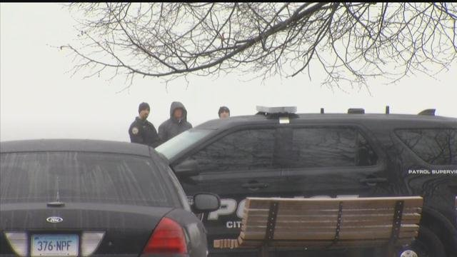 A woman's body was found near a pier in West Haven on Tuesday morning. (WFSB photo)