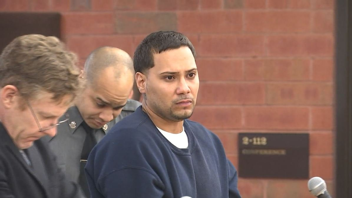 Ulises Robles is accused of shooting and killing a woman on New Year's Day (WFSB)