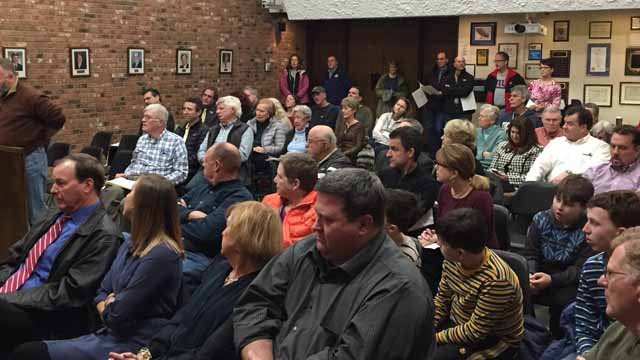 Dozens of residents spoke against a proposed solar farm in South Windsor (WFSB)