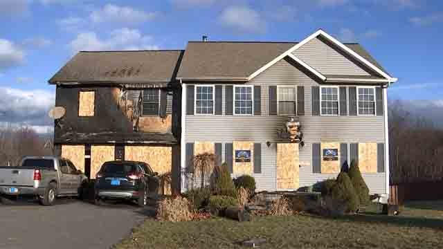 A neighbor is grateful after a woman saved a family from their burning home. (WFSB)