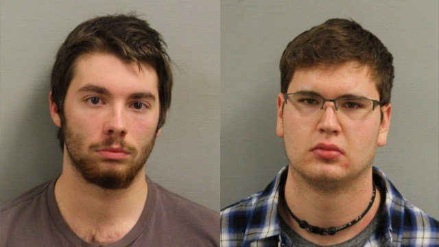 Ryan Lane and Robert Jankowski were charged in connection with the rape of a 16-year-old girl. (Bristol police photos)