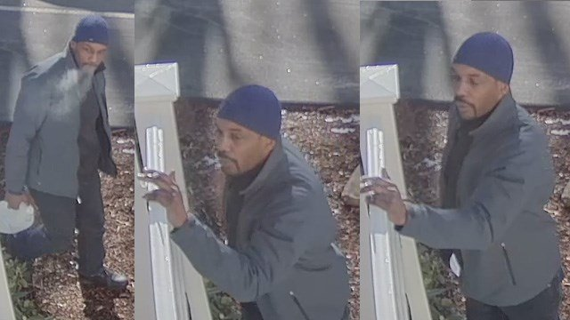 Police in New Britain said this man stole a car from their city and left it along Route 2 in Colchester. (New Britain/state police photos)