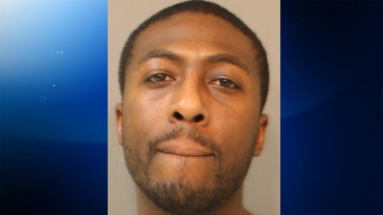 Demar Caldwell was arrested for peering into a window to watch a couple have sex, according to East Hartford police. (East Hartford police photo)