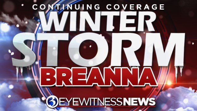 We have named the second storm this season Winter Storm Breanna, after former UConn star Breanna Stewart. (WFSB)