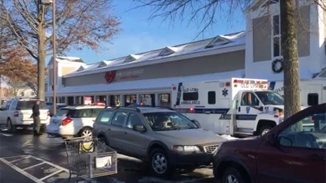 Multiple emergency crews were called to Big Y in Old Lyme for the report of a stabbing (WFSB)