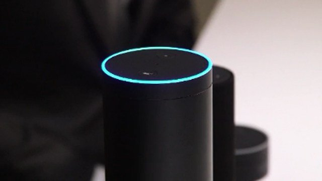 An Amazon Echo featuring Alexa. (CNN photo)