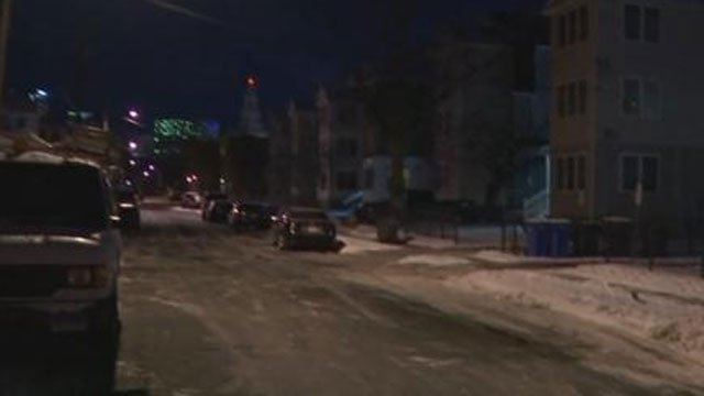 One person was dead after shooting in Hartford early Monday night. (WFSB)