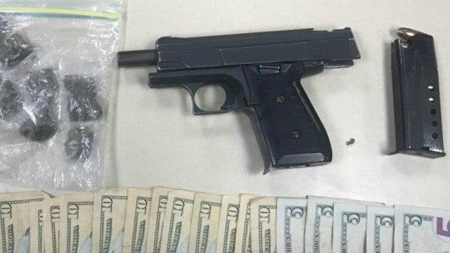 Police arrest juvenile in possession of handgun (Hartford Police Department)