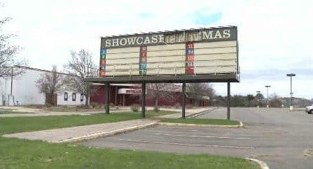 The old Showcase Cinemas location in East Hartford has been considered for the state's third casino. (WFSB file photo)