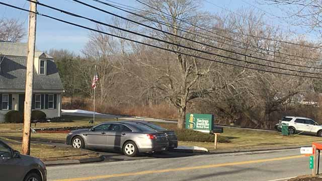 Police are investigating a bank robbery in Lebanon on Wednesday.  (WFSB)