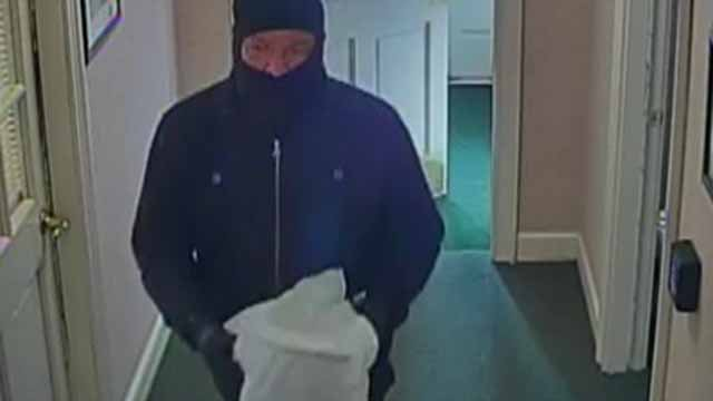 Police say this man is wanted in a Lebanon bank robbery that happened on Wednesday (CT State Police)