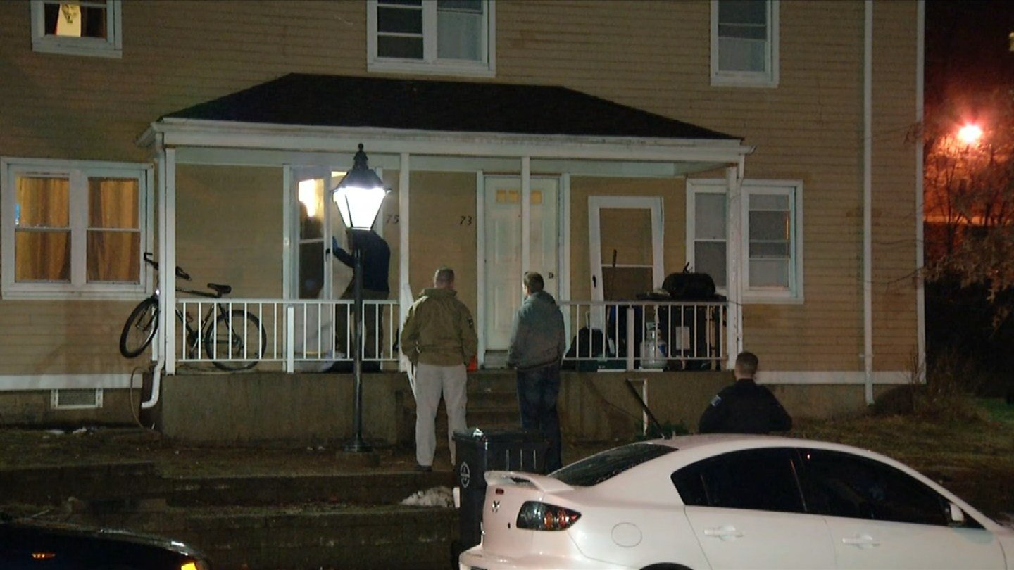 Police in Willimantic responded to what they called a 'serious incident' on Thursday morning. (WFSB photo)