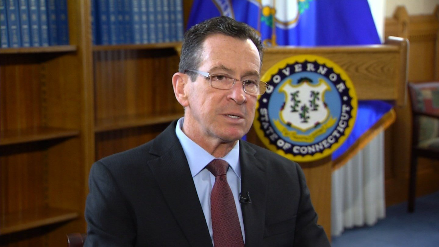 Gov. Dannel Malloy. (WFSB photo)