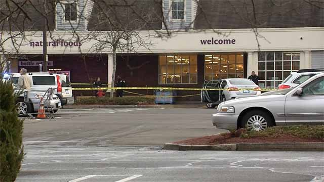 A woman dies after being hit by a car in the parking lot of the Madison Stop & Shop on Thursday afternoon. (WFSB)