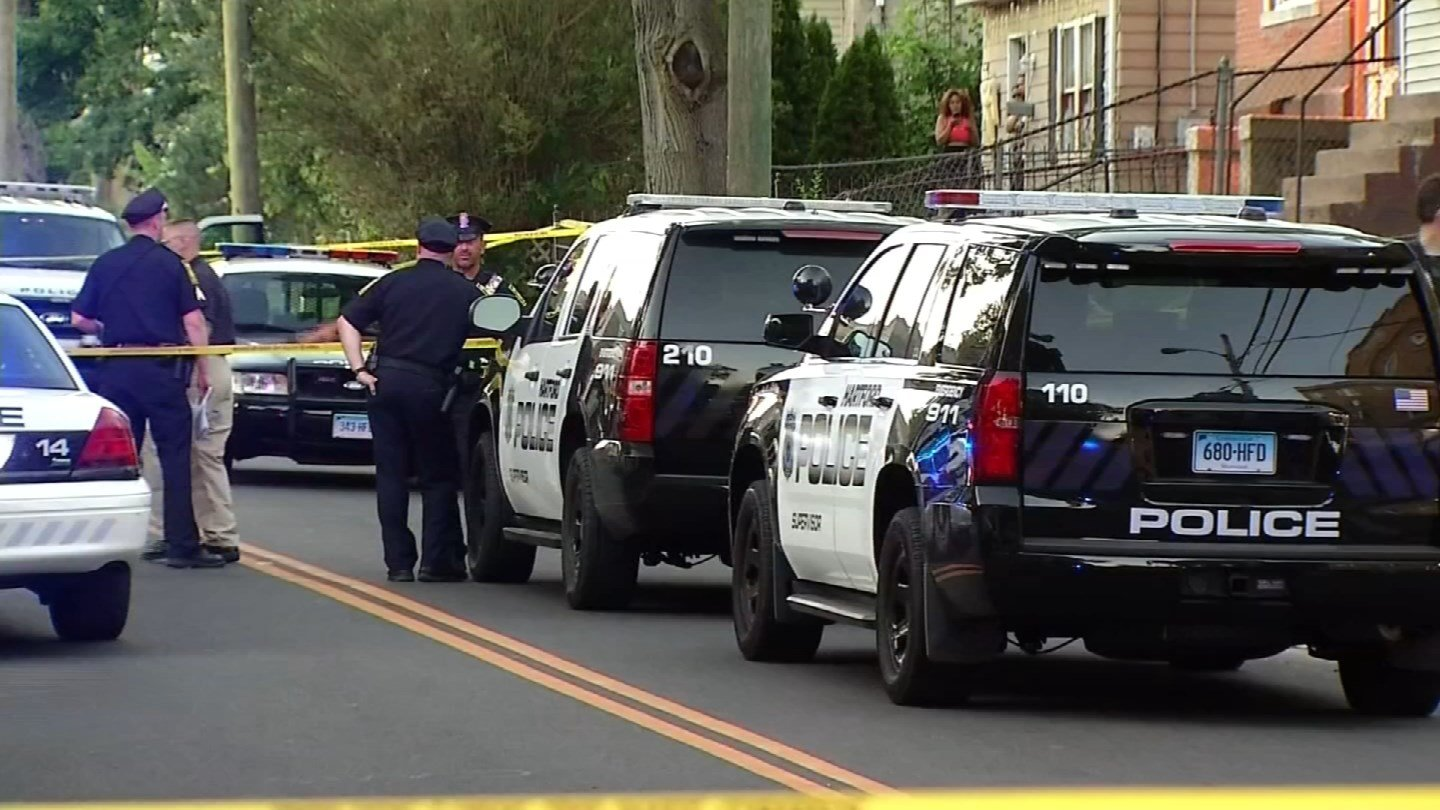 Hartford leaders and law enforcement are working to combat gun violence. (WFSB)