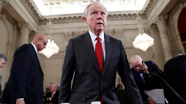 Sen. Jeff Sessions. (AP photo)
