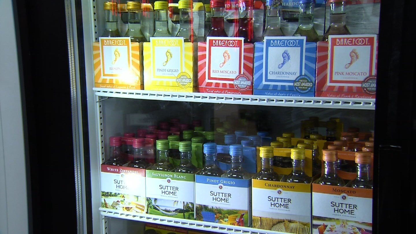 A proposed bill would allow the sale of alcohol via a vending machine (WFSB)