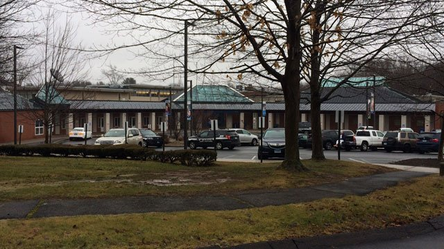 The Jewish Community Center in West Hartford has been evacuated because of a bomb threat on Wednesday morning. (WFSB)