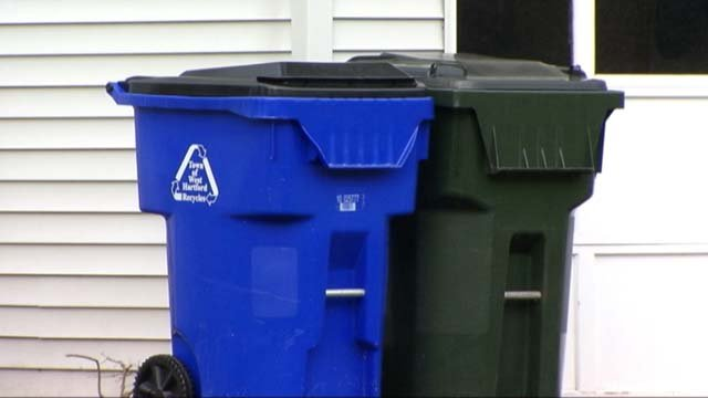 West Hartford is exploring alternate options for trash collection. (WFSB)