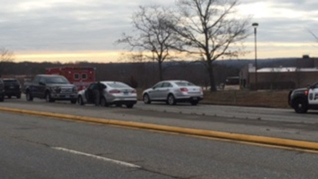 A body was found at the Waterford Crystal Mall. (WFSB photo)
