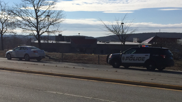 Police said a man was likely struck by a vehicle overnight near the Crystal Mall. (WFSB photo)