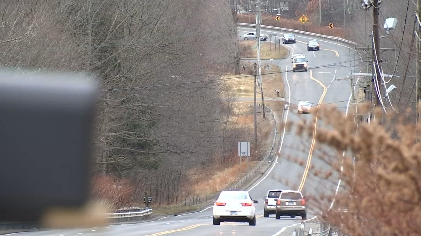 A 3-year-old child was found wandering on a busy road in Wolcott on Thursday (WFSB)