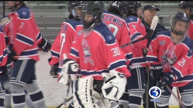 WMRP Eagles prepare to play for people involved by cancer. (WFSB)
