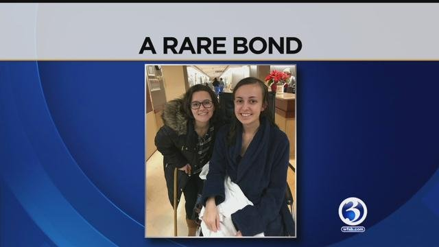 A special bond was formed between two young women who recognize how life can change in an instant.