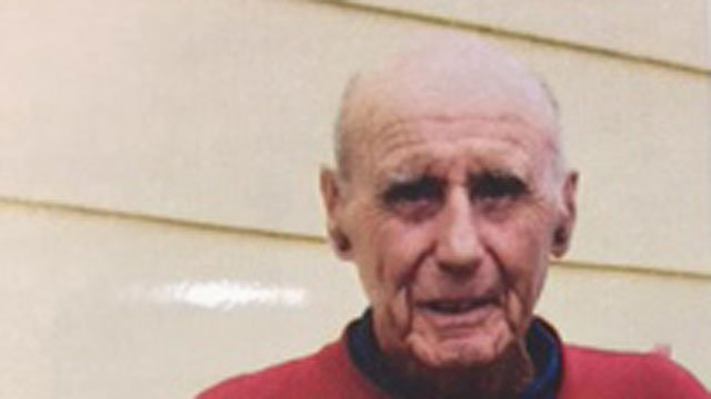 Police said 90-year-old Harry Brown was last seen on Monday.