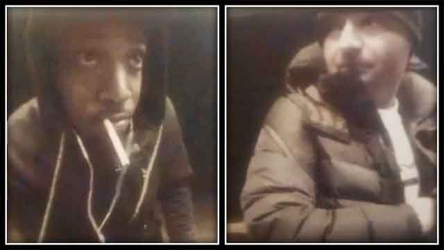 State police say these two men have been identified as possible suspects (CT State Police)