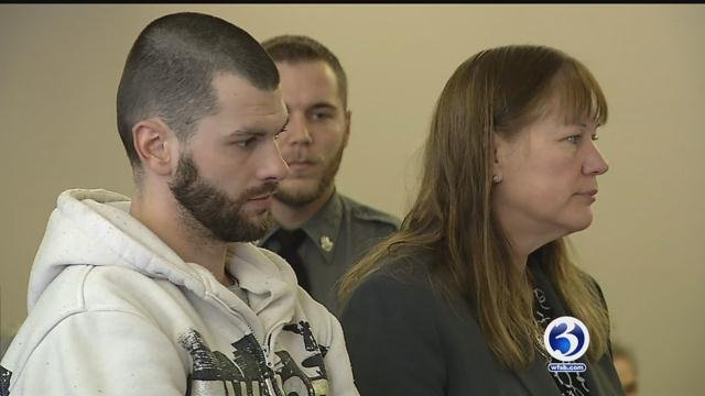 Michael Baker faced a judge on Wednesday (WFSB)