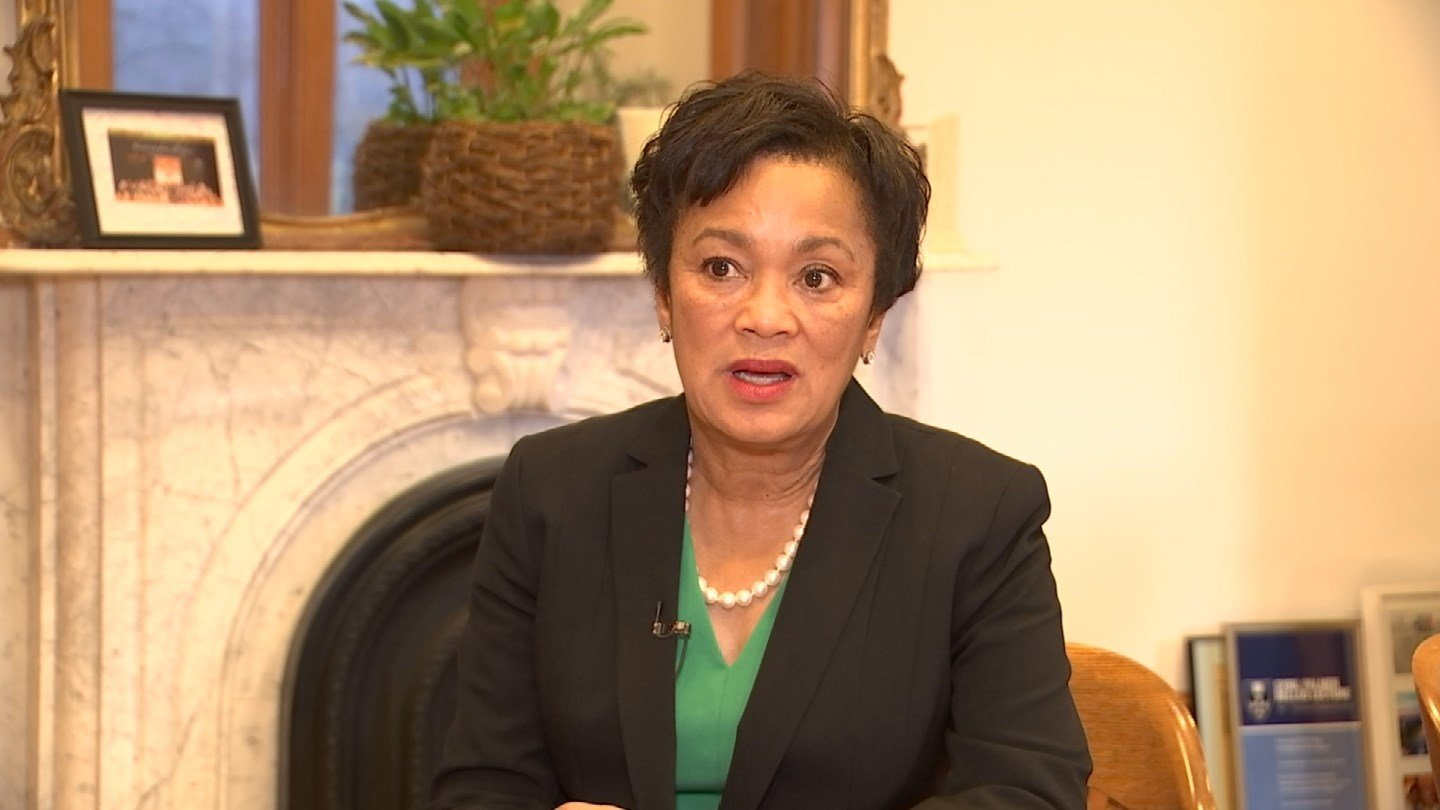 "New Haven Mayor Toni Harp called President Donald Trump's order ""a rash act."" (WFSB photo)"