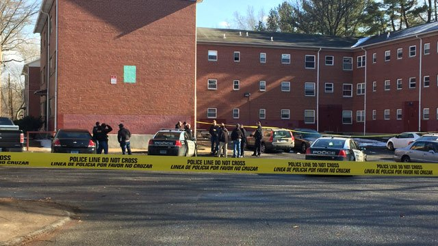 Police are investigating a shooting on Garden Street in Hartford on Thursday. (WFSB)