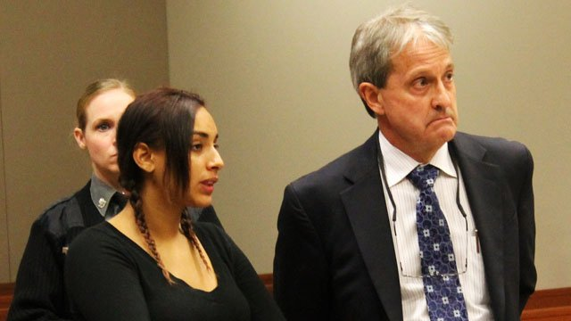 Anijah Robinson faced a judge on Thursday. (New Britain Herald)