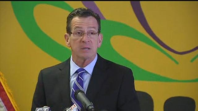 Gov. Dannel P. Malloy  announced a series of proposals to help fight opioid addiction in Connecticut. (WFSB)