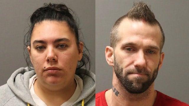 Kayla Gould and Jason Link. (Putnam police photos)