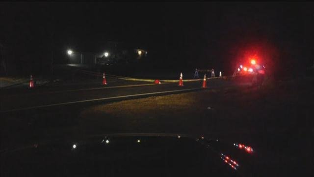 A tractor trailer crash closed part of Route 1 in Guilford on Thursday (WFSB)