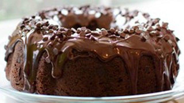 The 'Too Much Chocolate Cake' from AllRecipes.com. (AllRecipes photo)