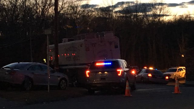 Police are investigating an officer-involved shooting in Montville on Sunday. (WFSB)
