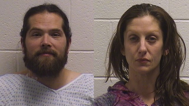 Justin Bohn and Michelle Sharik. (Naugatuck police photos)