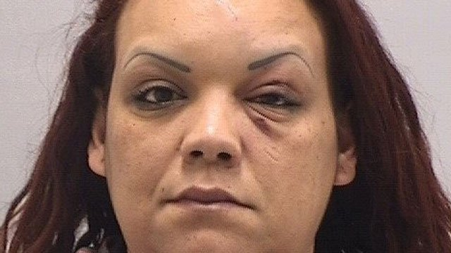 Helga Villafane was one of four people arrested for a fight at  Chuck E. Cheese restaurant. (Orange Police Department)