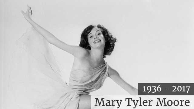 """Mary Tyler Moore became famous after starring on the Dick Van Dyke show from 1961-1966. She also starred in her own show, the """"Mary Tyler Moore Show,"""" from 1970-1977. She won 7 Emmy awards and was inducted into the television Hall of Fame in 1986. Getty I"""