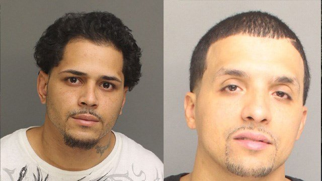 Moises Contreras and Xavier Rivera were both charged with murder following a Christmas Eve homicide in Bridgeport. (Bridgeport police photos)